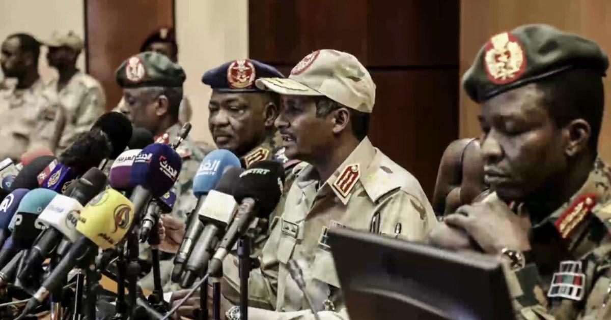 美国媒体:军事委员会是否会将权力移交至苏丹平民?