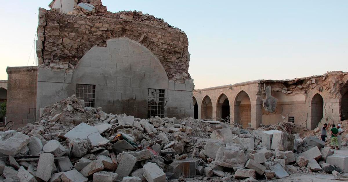 文物古迹的破坏情况_法国报告调查被劫掠的叙利亚文物
