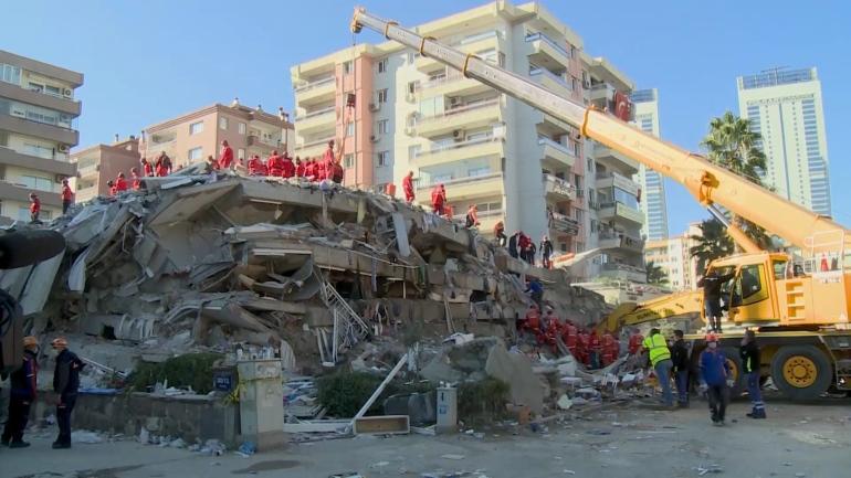 土耳其地震更多幸存者从废墟中获救死亡人数上升