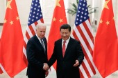 U.S Vice President Joe Biden Visits China (盖帝图像)